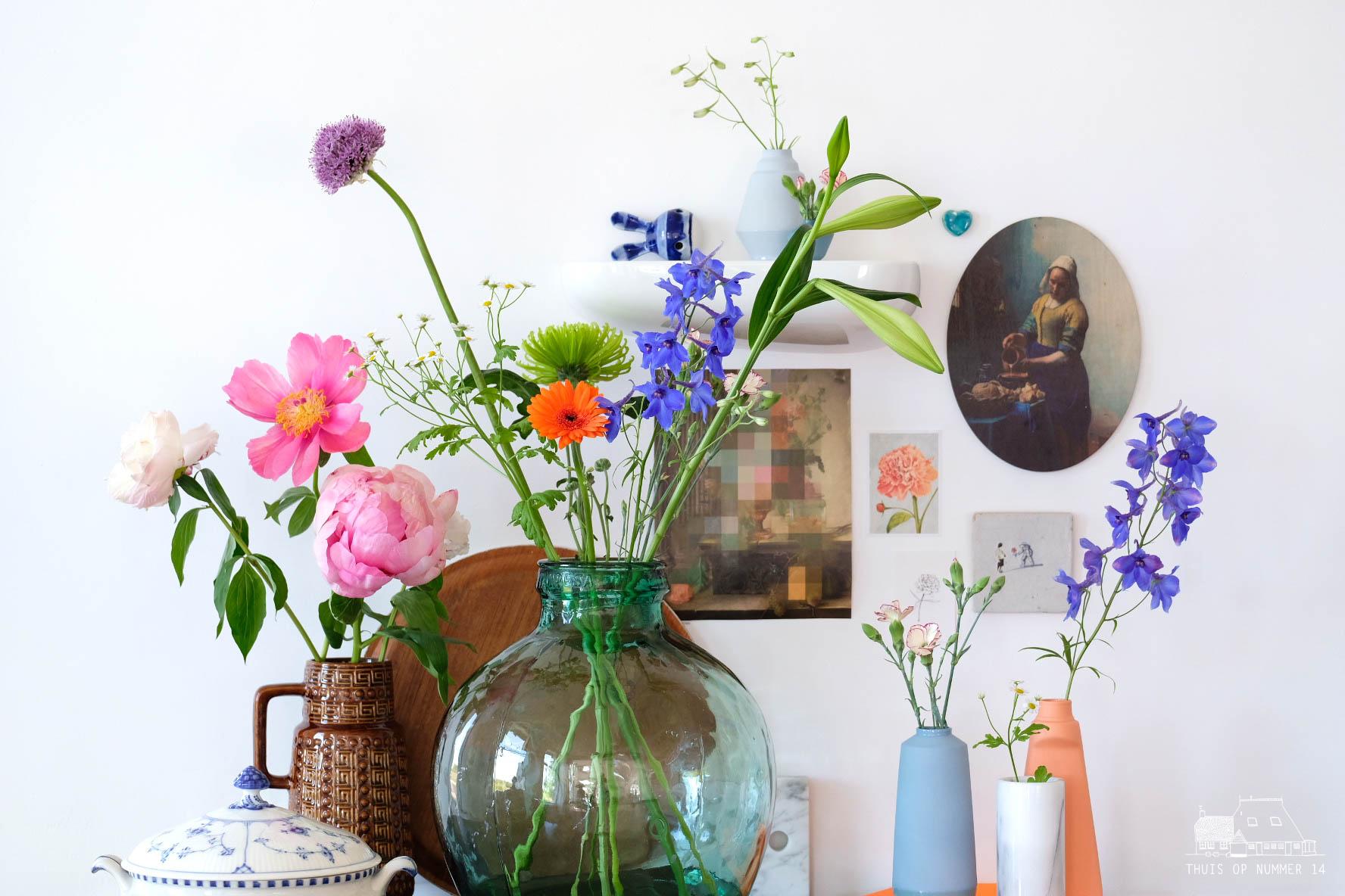 thuis op nummer 14 - zeg het met bloemen