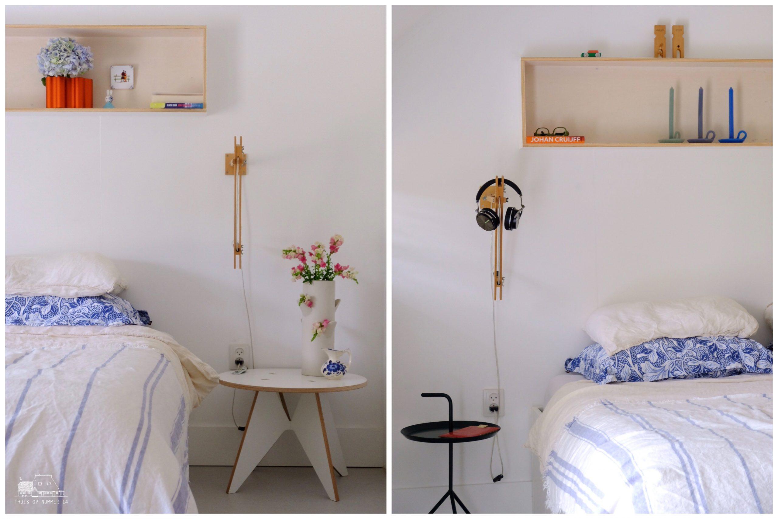 Onze slaapkamer mét fijne inloopkast.