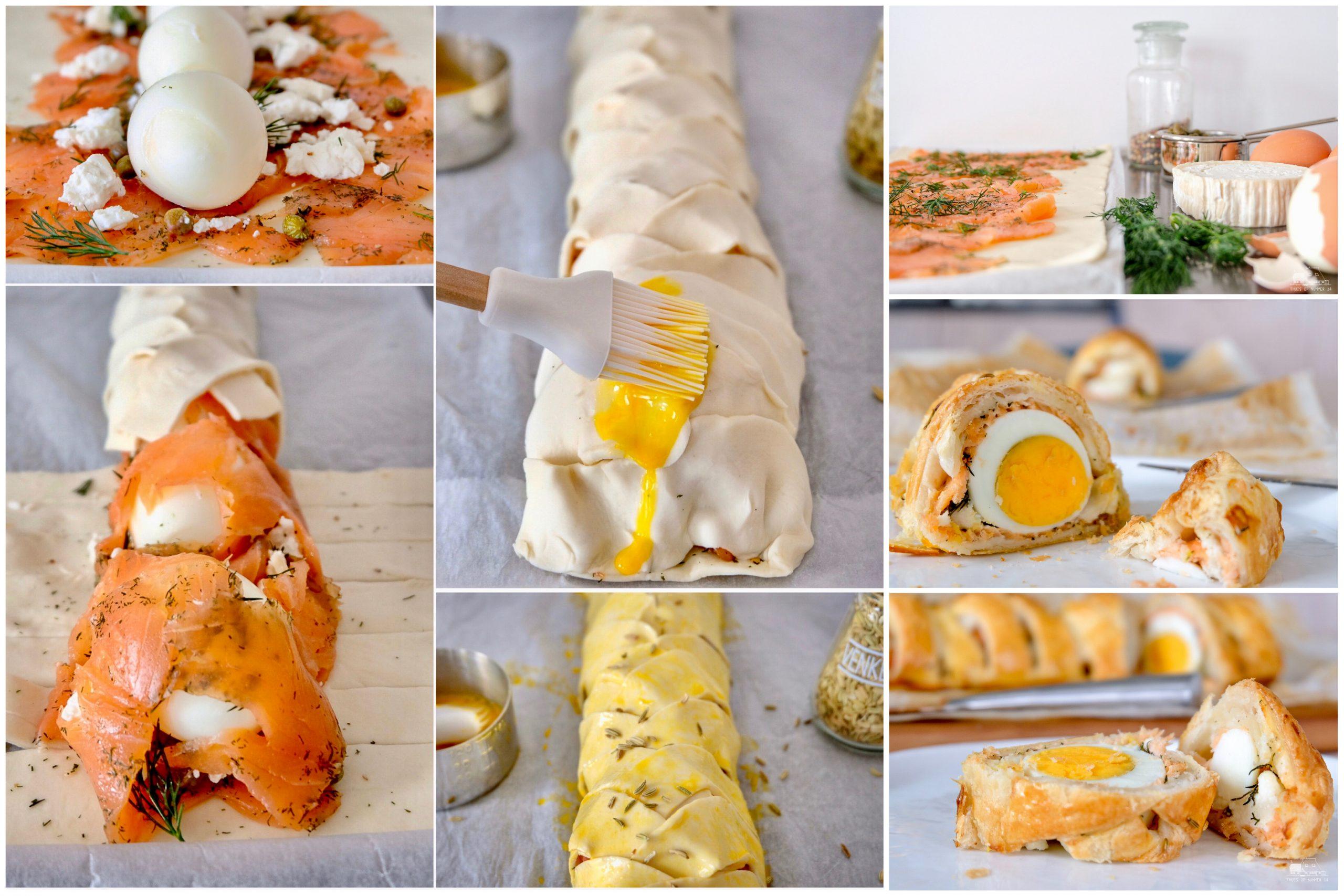 Lentebrood met zalm en ei - Maandelijks terugblik-en weetjesblog #3